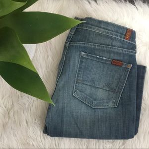 7 for all mankind boycut jeans
